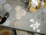Cuisine de tuiles d'hexagone de tuile/tuiles rustiques Antiqued par art de plancher de tuiles de Hall/mur de salle de bains