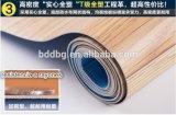 Suelo plástico del PVC del color de madera