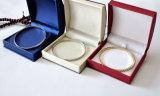 Caixa de armazenamento de couro da jóia da qualidade e do luxo para as jóias (Ys334)