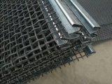 鋼鉄カーブの金網