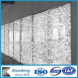 Hôtel mur extérieur de panneaux de mousse en aluminium