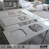 Pedra artificial de mobiliário de cozinha bancada de pedra de quartzo