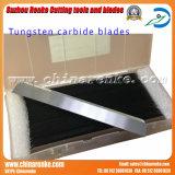De Bladen van het Carbide van het wolfram voor Scherp Plastiek