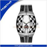 Psd-2325 La banda de Reloj de cuero de color automático de ver el caso de la moda Unisex reloj de pulsera