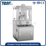 Tablilla rotatoria de la fabricación farmacéutica Zpw-10 que hace la maquinaria de la prensa de la píldora