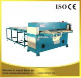 Máquina de cuero de la prensa que corta con tintas