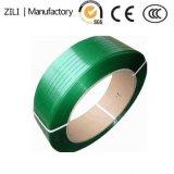 機械水平な緑のEmbrossedペットテープ締縄のリボンのストリップ