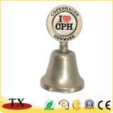 Llamada de mano Polished Bell de servicio para los regalos del recuerdo