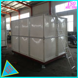 Повышенные стальных изделий из стекловолокна FRP резервуар для воды в разрезе емкостей для хранения воды из ПВХ SMC