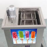 アイスキャンデー型およびアイスキャンデーのホールダーが付いているステンレス鋼のアイスキャンデー機械