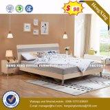 Кожаный дизайн Almirah кроватью размера поднимите кровать (HX-8NR0857)