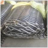 Cinta transportadora de malla de alambre de metal