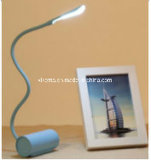 Mini lumière rechargeable flexible de bureau de Dimmable DEL