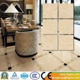 El azulejo de suelo de piedra esmaltado Polished rústico más nuevo para al aire libre y de interior (SP6P63T)