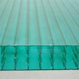 Folha oca do policarbonato da parede elevada do impato quatro para o telhado do pára-sol