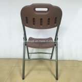 판매 (JY-P02)를 위한 플라스틱 정원 잔디밭용 의자를 접히는 현대 식사 의자