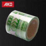 Rodillo en blanco auto-adhesivo del papel de la etiqueta engomada de la talla del alto del lustre de la escritura de la etiqueta trazador de líneas material de encargo del animal doméstico