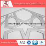 レーザーの切口PVDFアルミニウムスクリーンのパネルのMashrabiyaのカーテン・ウォールのクラッディングの建築正面