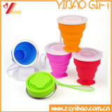 Nahrungsmittelgrad-kundenspezifisches buntes Tee-Kaffee-Silikon-Cup
