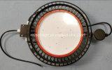 Bahía industrial LED del UFO de la bahía inferior transparente 200W del diseño alta