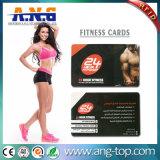 Smart card feito sob encomenda da ginástica RFID para a gerência da sociedade da aptidão