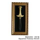 La decorazione antica 35cm HK8235/HK8235s della Tabella della spada della cobra dell'Egitto