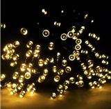 chaîne de caractères féerique solaire de 30m 300LEDs/String DEL pour Noël