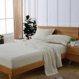 4pcs/Set montado 100% puro de hoja de ropa de cama Ropa de la hoja superior