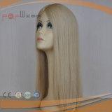 가득 차있는 금발 Virgin 머리 여자 머리 피스 (PPG-l-01453)