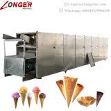転送されたアイスクリームの砂糖の円錐形機械を作る自動ワッフルの円錐形