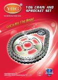 Insieme della ruota dentata Chain del motociclo, Kit De Transmission, Suzuki Ax100 Jingcheng A100