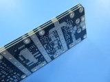 Immersion-silberne Mischling gedruckte Schaltkarte 10 Mil RO4003c und Fr-4 kombiniert
