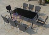 Vector y silla cómodos de la rota del PE del ocio del jardín al aire libre
