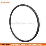 Только 350g! 29er MTB обода углерода 27мм Ширина 29мм типа Hookless Сверхлегкий легкосплавных колесных дисков