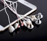 Bruit de câble d'Earbuds isolant des écouteurs d'écouteur de Bluetooth avec le microphone