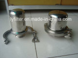 2.5 En acier inoxydable de 5 pouces du carter de filtre à air