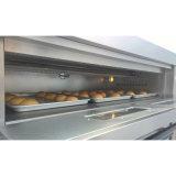 Horno de panadería del gas de la bandeja de la cubierta 9 del precio al por mayor 3 de Hongling desde 1979