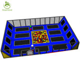 L'amusement des enfants Trampoline lit, le parc commercial Customzied Trampoline