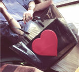 빨간 심혼 형식 PVC 끈달린 가방 핸드백 (BDMC187)