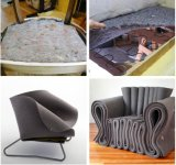 La Chine de la vente directe matelas lit étanche gris mat