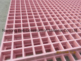 La fibre de verre/Glassfiber râpage, feuille de PRF, moulés le râpage, Pultruded caillebotis.