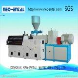 Hohe Kapazitäts-Plastikdoppelschraube Belüftung-Extruder-Rohr, das Maschine herstellt