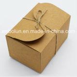 Diseño exclusivo de crema de cartón cajas de embalaje de la pantalla en el supermercado