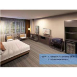 Wooden Luxury Hotel Furniture Double Bed for Commercial clouded