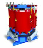 35kvクラスの3-Phase鋳造物の樹脂の回路の蛇口35kvを離れたが付いている乾式の電源変圧器