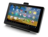 En 2018 à quatre coeurs 5.0inch Android 6.0. 1,5Ghz Tablet PC avec la voiture la navigation GPS, FHD1080p voiture DVR, AV-in de caméra de stationnement arrière; 5.0MEGA GPS de voiture