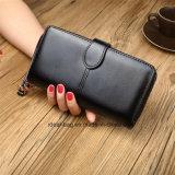 Custom Mesdames PU Wallet Sac de voyage en cuir pour téléphone cellulaire
