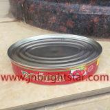 Заготовленных скумбрии в природные масла 425 g с овальными Тин