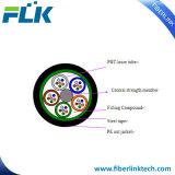 Cavo strutturato ottico allentato esterno della fibra del tubo di GYTS per la rete