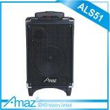 당 시간 Bluetooth Amaz/Temeisheng/Kvg 리튬 건전지를 가진 최고 정선한 액티브한 Karaoke 트롤리 스피커